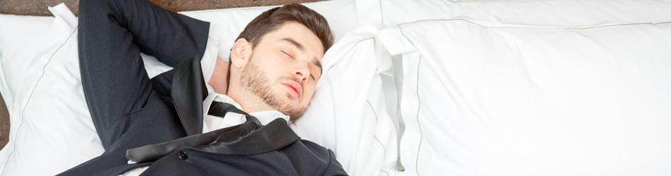 Do successful people sleep less?